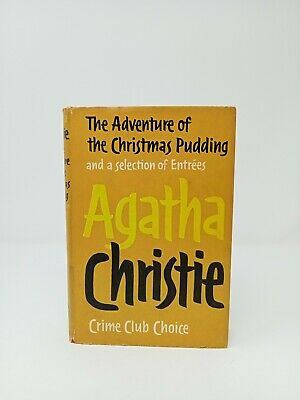 £60 • Buy Agatha Christie The Adventure Of The Christmas Pudding First Edition