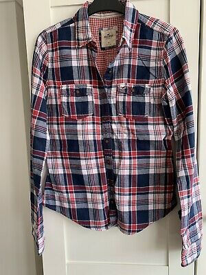 £7.99 • Buy Hollister Ladies Checked Shirt - Size Small