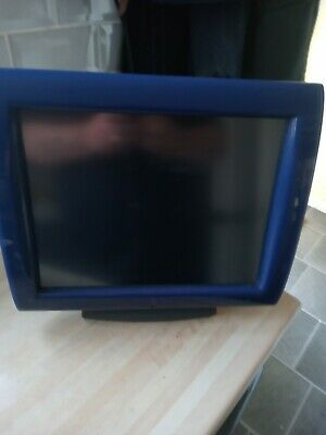 £15 • Buy Posligne OLC15 Point Of Sale Touchscreen - Blue With Stand And Mains Supply