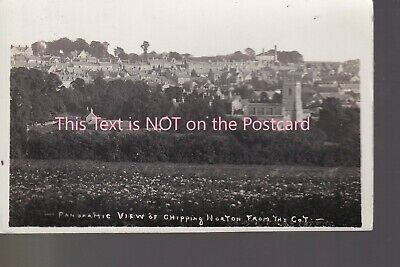 £1.99 • Buy Panoramic View - Chipping Norton The Cot - Old Unposted Real Photo Pstcrd Packer