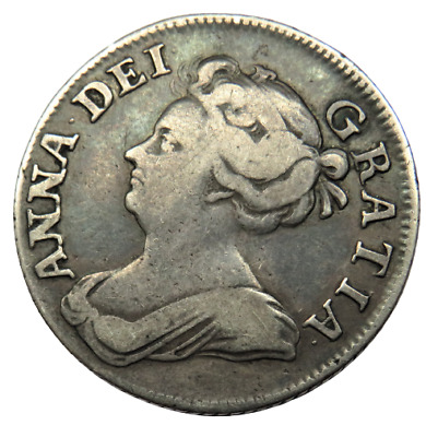 £125.95 • Buy 1708 Queen Anne Silver Shilling Coin - Ref;sc1