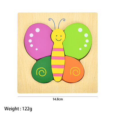 £5.78 • Buy Puzzles Jigsaw For Baby Boys Girls Wooden Puzzles Toys For 1-3 Year Old Toddl*S