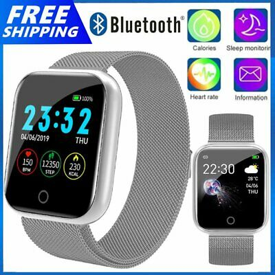 AU29.90 • Buy I5 Bluetooth Smart Watch For Android IPhone Samsung Kids Tracker Camera AU Stock