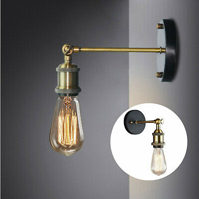 £5.99 • Buy Modern Industrial Vintage Retro Rustic Sconce Wall Light Lamp Fitting Fixture