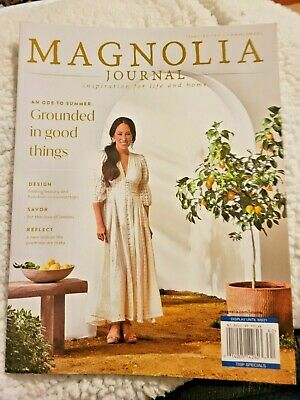$2 • Buy THE MAGNOLIA JOURNAL ISSUE #19 Summer 2021 Inspiration For Life & Home BRAND NEW