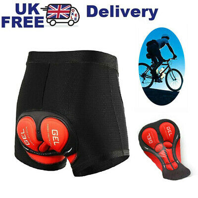 £7.98 • Buy Gel 9D Padded Unisex Cycling Underwear Silicone Bicycle Riding Shorts Pants