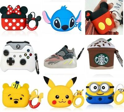 AU12.82 • Buy Apple AirPods Gen 1/2 Pros Premium Cartoon Style Silicone Protective Case Cover