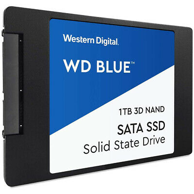 £63.99 • Buy WD Blue 3D NAND 1TB 2.5  SSD 1TB Capacity SATA III Interface 2.5  Form Factor