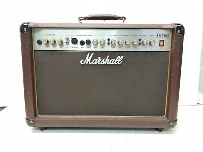 £99.99 • Buy Marshall AS50R Acoustic Guitar Amp - 50W - Soloist Amplifier