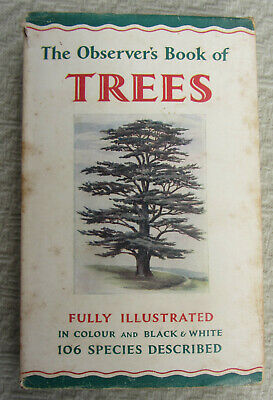 £3.50 • Buy The Observer's Book Of Trees H/b