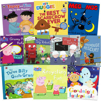 £12 • Buy Iggle Piggle: 10 Kids Picture Books Bundle (Book Collection), Books, Brand New