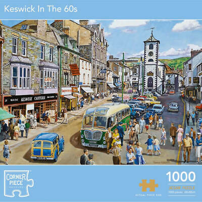 £9 • Buy Keswick In The 60s 1000 Piece Jigsaw Puzzle, Toys & Games, Brand New