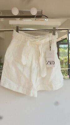 £2 • Buy Zara Girls Linen Shorts Age 13-14 Years Brand New With Tags