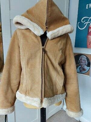 £100 • Buy Baby Phat Leather  Suede Short Jacket Size XL. Golden Brown Colour - Used