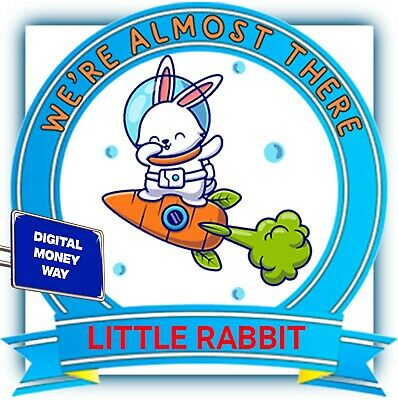 $9.99 • Buy ✅  10 Quadrillion  Little Rabbit LTRBT MINING CONTRACT  Crypto Currency