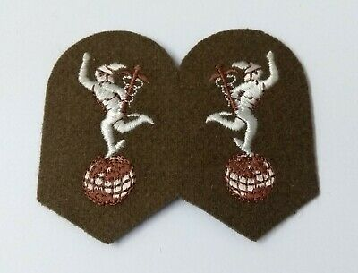 £3.99 • Buy Genuine British Army No2 FAD Dress Royal Corps Of Signals Collar Patch ASPS337