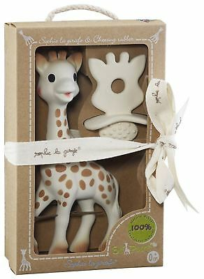 £19.99 • Buy SOPHIE THE GIRAFFE NATURAL TEETHER SET Baby Teether Toy BN