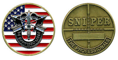 £11.55 • Buy Challenge Coin - US Army Special Forces Sniper