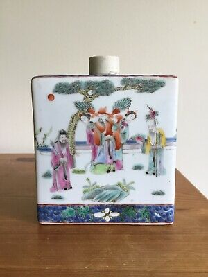 £50 • Buy Antique Chinese Porcelain Tea Caddy
