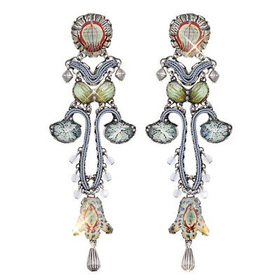£145 • Buy Ayala Bar Radiance Collection Extra Large  Marble Beach  Earrings