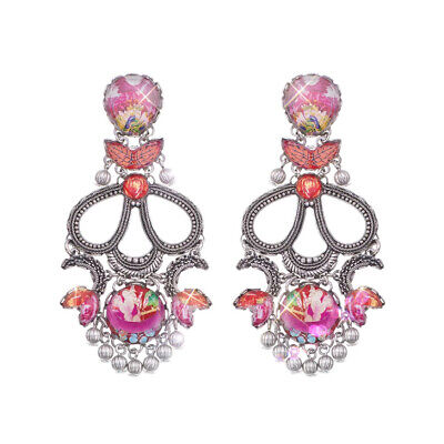 £138 • Buy Ayala Bar Radiance Collection Large  Crimson Dreams  Earrings Reduced