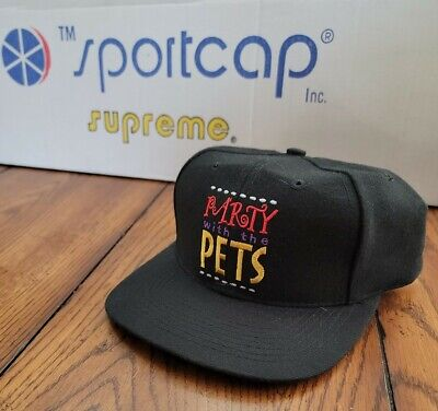 $ CDN18.26 • Buy Vintage Party With The Pets Penthouse Snapback Hat Cap 90s Movie Promo