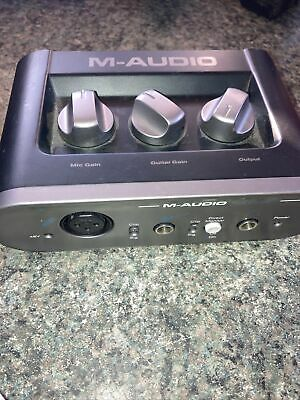 $23.99 • Buy M-Audio Fast Track USB Recording Studio Interface Dual RCA Connector | Tested