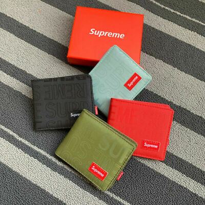 $20.15 • Buy Supreme Men's Women's Short Change Card Bag Coin Wallet With The Branded Box US