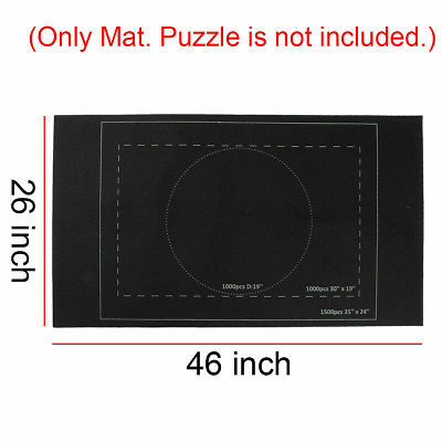 £4.99 • Buy Jigsaw Puzzle Storage Mat Roll Up Puzzle Felt Home Game 1500 Pieces Gift Mat UK