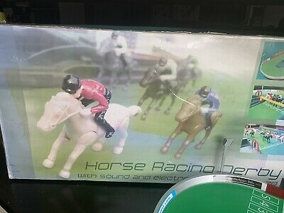 £26 • Buy Horse Racing Derby Game /battery Controlled For Sound Peers Hardy Vintage