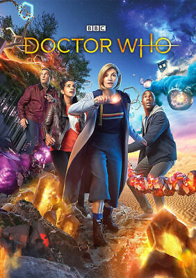 £10.64 • Buy Doctor Who A4 Poster Jodie Whittaker Dr Who Series
