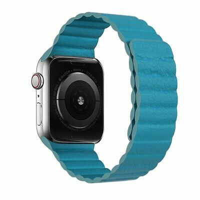 AU16.49 • Buy Watch Band Leather Strap Magnetic Loop Bracelet Belt For Apple Iwatch 5/4/3/2/1