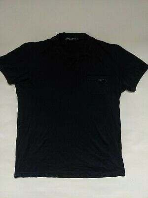£20 • Buy Expensive DOLCE&GABBANA D And G, T-Shirt, Size XL, Black