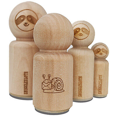 $2.99 • Buy Cute Snail With Mail Gastropod Rubber Stamp For Stamping Crafting Planners