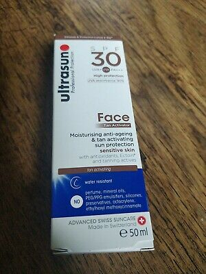 £15.50 • Buy Ultrasun Face SPF 30 With Tan Activator 50ml BRAND NEW