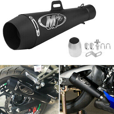 $64.88 • Buy Motorcycle Exhaust Muffler Pipe DB Killer Slip On M4 Exhaust For GSXR 750 YZF R6