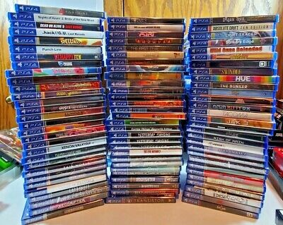 AU63.35 • Buy PlayStation PS4 Video Game Lot You Pick And Choose!  All Brand New! Rare Titles!