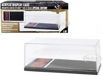 £10.60 • Buy Display Show Case Indianapolis Motor Speedway For 1/18 Models Greenlight 55021