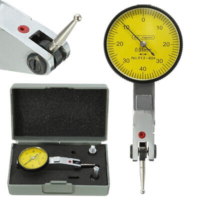 £12.38 • Buy Dial Gauge Test Indicator Precision Metric With Dovetail Rails 0-40-0 0.01mm ^uk