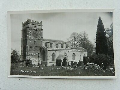 £1.29 • Buy Great Tew. Church.  Real Photo From Frank Packer Chipping Norton