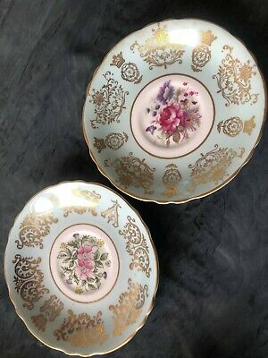 £4.99 • Buy 2 X Paragon Fine Bone China Saucers To Commemorate The British Royal Family