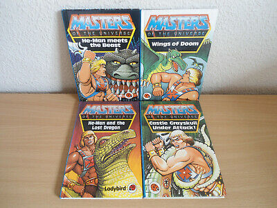 £9.99 • Buy 4x Masters Of The Universe Ladybird Books He-Man Castle Greyskull Under Attack!