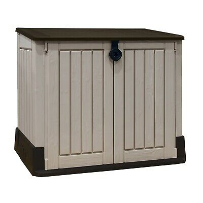 £70 • Buy Pre-Built Keter Store-it-Out Midi Outdoor Garden Storage Shed 845L *Cracked #5