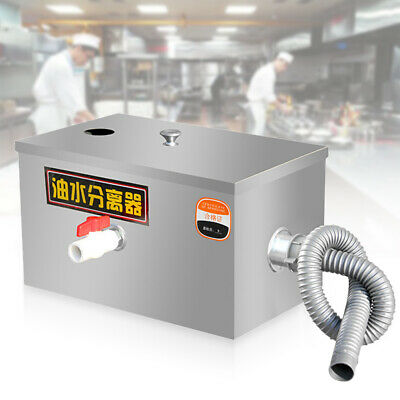 £64 • Buy Stainless Steel Grease Trap Interceptor For Restaurant Grease Recovery Device