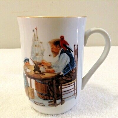 $ CDN17.48 • Buy Vintage Norman Rockwell Museum Cup Collectible Coffee Mug  For A Good Boy