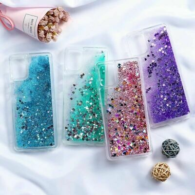 AU9.49 • Buy Quicksand Bling Case For Samsung S20 S10 S9 S8 Plus Note 8 9 A50 A70 A81 Cover