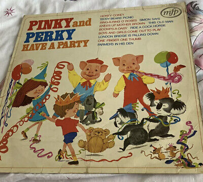 £3.50 • Buy Pinky And Perky Have A Party LP Album Vinyl Record MFP50031 A2/B1 Children 70's