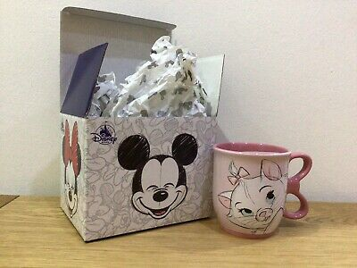 £9 • Buy Disney Store Marie Aristocats Adorable Mug With Bow Tie Handle Detail New In Box
