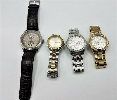 $ CDN12.44 • Buy Lot Of 4 Untested Guess Watches *Needs Parts/Repair/Batteries* LB301