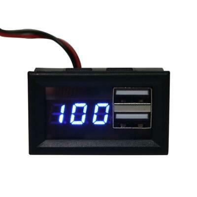 £4.04 • Buy 12V Battery Capacity Indicator Voltage Gauge Power Meter With Charge USB Output